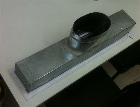 linear 2 slot vent 900mm white
