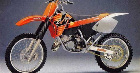 Ktm Sx250f Daily Moto 1998 Ktm 125sx