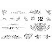 85 Free Vintage Vector Ornaments  Download