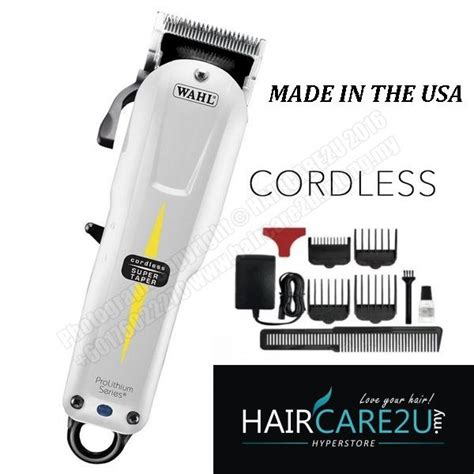 Harga Conditioner Schwarzkopf Care wahl 8591 cordless taper professional hair clipper