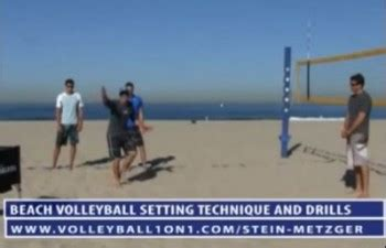 advanced setter drills advanced beach volleyball setting technique and drill with