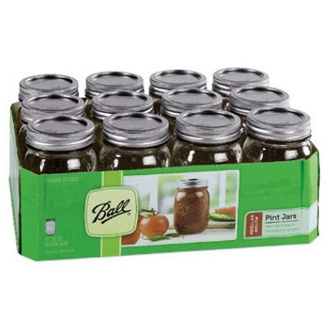 what are jars 61000 pint size regular jars canning jars