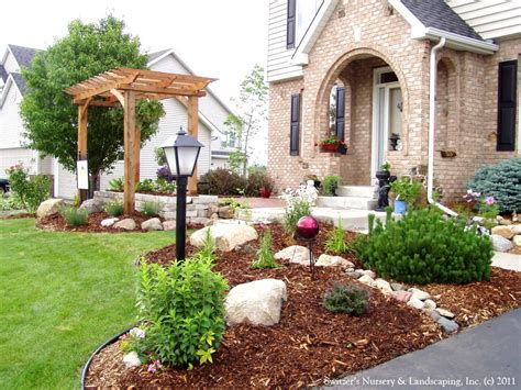 outdoor garden interesting front yard landscaping