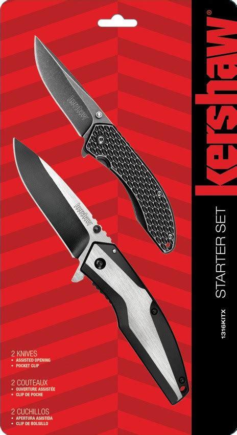 starter pocket knife ks1316kitx kershaw starter pocket knife set