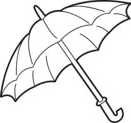 umbrella coloring page free images