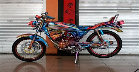 motor drag kumpulan gambar modifikasi yamaha rx king terbaru 2013
