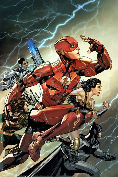 check out the justice league variant covers for