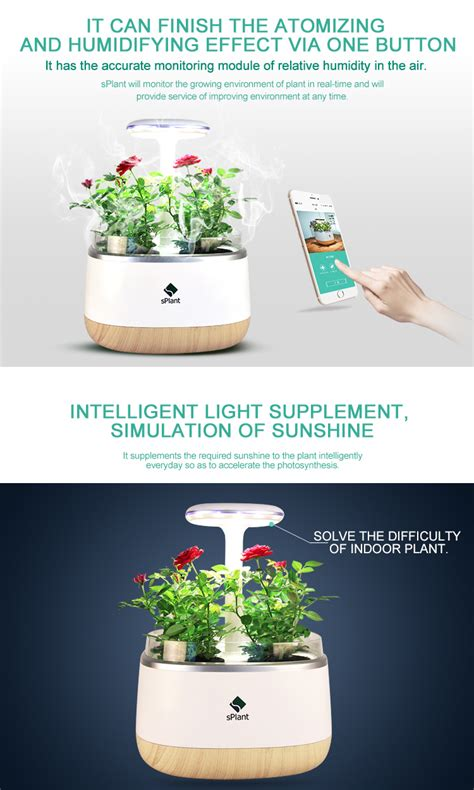 smart herb garden provides fresh herbs at home splant smart fresh herb garden kit intelligent indoor