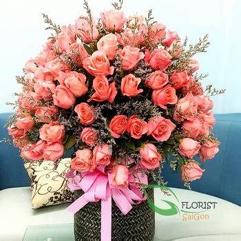 big flowers basket for happy birthday
