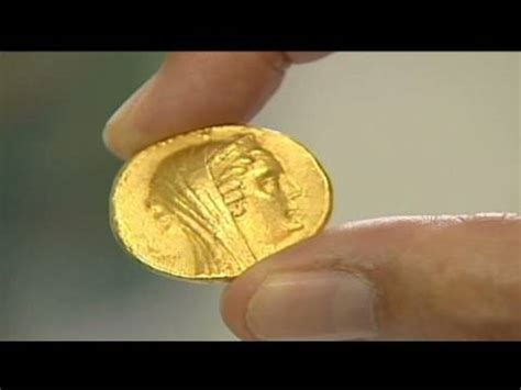 cnn: 2,200 year old israeli gold coin unearthed youtube