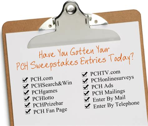 About Com Sweepstakes One Entry - so many ways to enter to win the pch sweepstakes pch blog