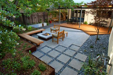 Tiles For Backyard 25 Great Stone Patio Ideas For Your Home Thefischerhouse