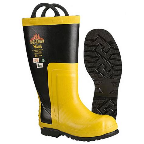 viking fire boat vw91 viking firefighter rubber chainsaw boot vw91