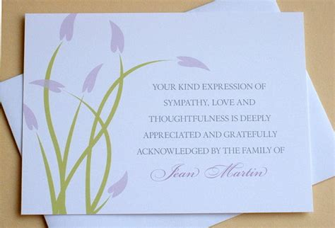 free sympathy thank you card template free sympathy thank you cards templates ideas anouk