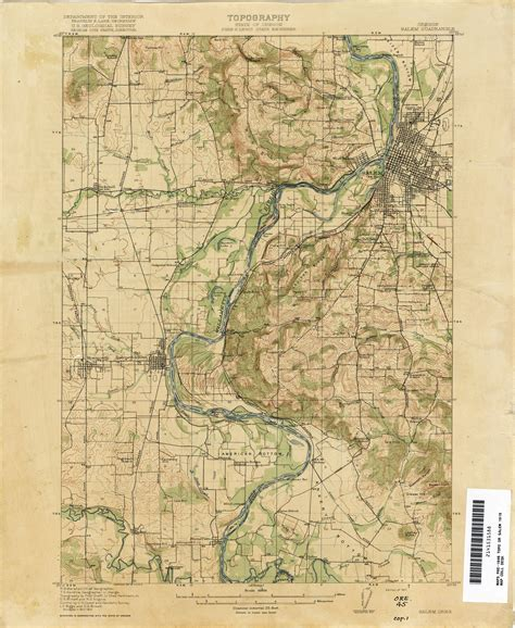 map of oregon 1900 oregon historical topographic maps perry casta 241 eda map