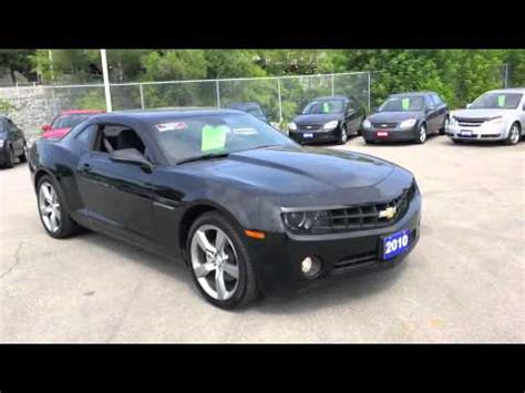 chevrolet camaro lt rs black youtube