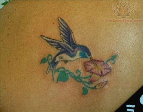 hummingbird and flower tattoo hummingbirds and flowers tattoos