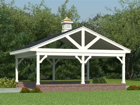two car carport plans carport plans 2 car carport plan 006g 0017 at