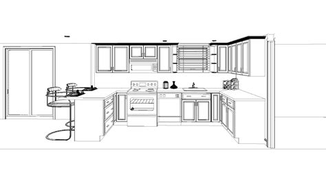 Kitchen Cabinets Layout Design Professional Kitchen Layout Interior Design Ideas
