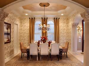 Elegant Dining Room by Fall Color Trends Hgtv
