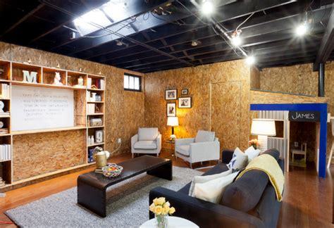 Home Entertainment Design Nyc dillon industrial basement new york by