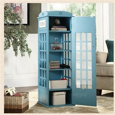 phone booth bookcase vintage style telephone booth bookcase 4 colors