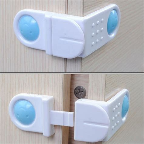 Baby Safety Drawer Latches by Right Angle Cabinet Cupboard Drawer Fridge Door Lock Baby