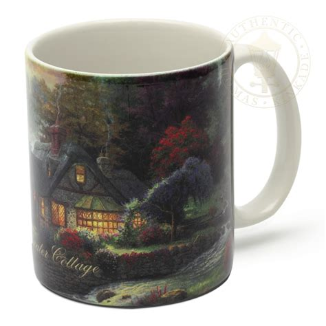 Gifts For Cottage by Stillwater Cottage Ceramic Mug The Kinkade Company