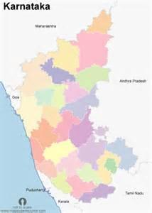 Karnataka Outline Map by Free Karnataka Districts Outline Map India Map Of Karnataka Districts Outline Open Source
