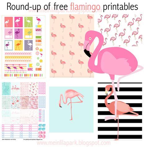free flamingo printables flamingos up meinlilapark