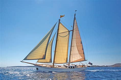 Mediterranean Style Home Plans Classic Sailing Yacht Silver Spray Built By Scheepswerf