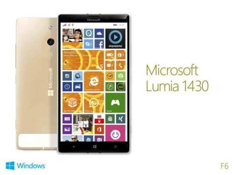 concept top smartphones: microsoft lumia 1430 design
