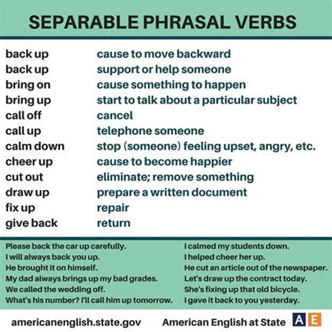 10 phrasal verbs with back with meaning and exles 17 best images about business english on pinterest