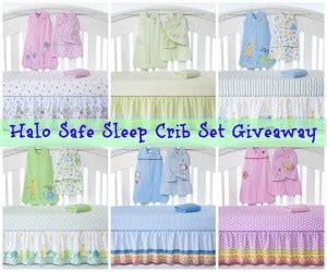 Halo Safe Sleep Crib Set by Halo Safe Sleep Crib Set Giveaway Babygifts