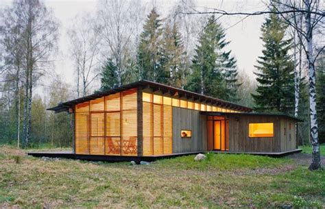 swedish home award winning wood summer house design by wrb freshome