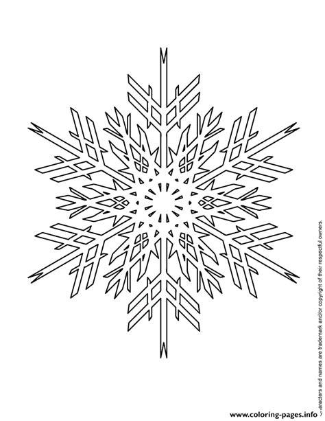 snowflake design coloring page advanced snowflake design coloring pages printable