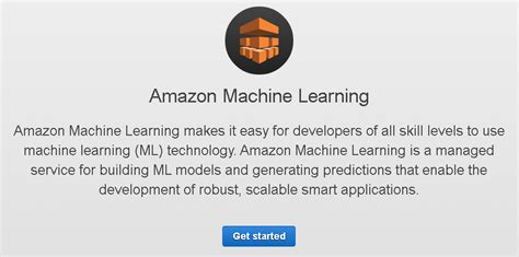amazon machine learning amazon machine learning review robusttechhouse