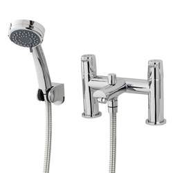 Bath Mixer Tap Shower Hose triton dene bath shower mixer tap with handset and hose