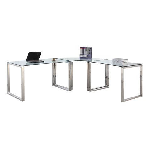 Table L Set Modern Desks Crowley L Desk Set Eurway Furniture