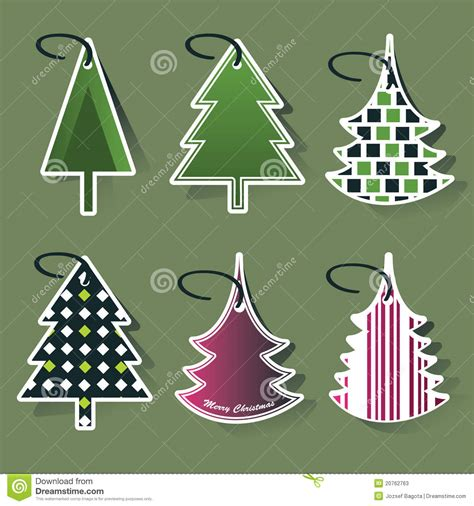 christmas tree price tags stock photos image 20762763