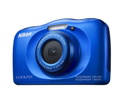 nikon coolpix s33 | 13mp tough compact digital camera