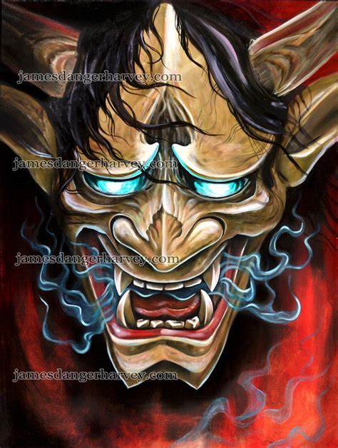 japanese devil mask tattoo designs 17 of 2017 s best hannya mask ideas on