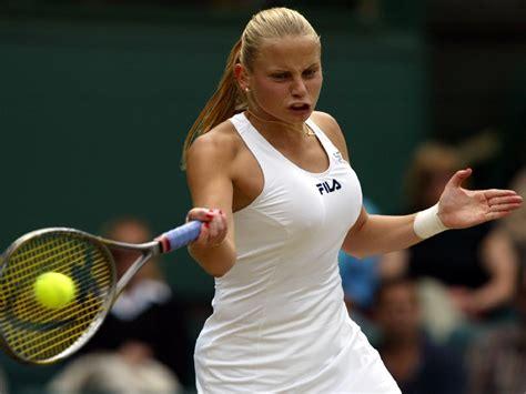 White Gray Pliskova Skirt dokic tennis player 1600x1200 desktop tennis
