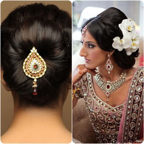 Hindu Wedding Hairstyles For Hair by Best Hairstyles For Indian Wedding Brides Stylo Planet