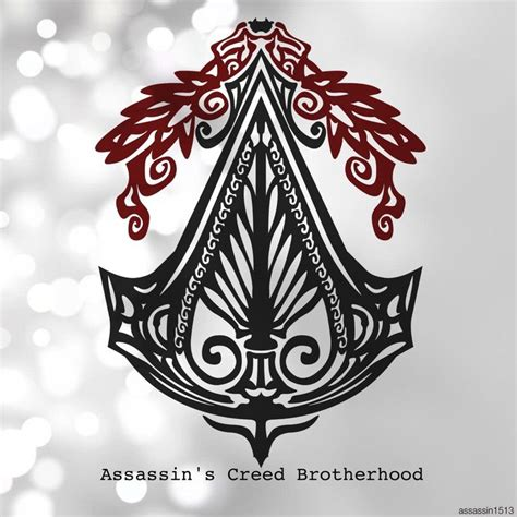 brotherhood tribal tattoo 1000 ideas about assassins creed logo on
