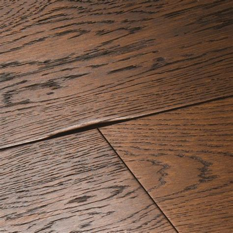 Chepstow Distressed Charcoal Oak Flooring   Woodpecker