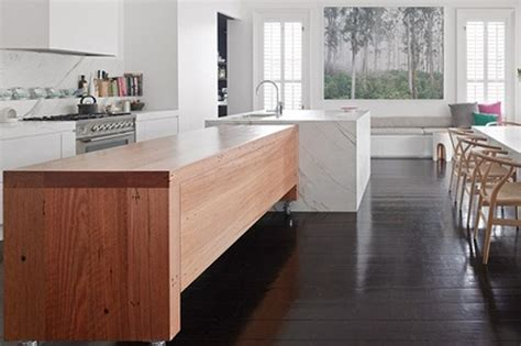 timber kitchen bench perini blog how to choose the right kitchen bench top 7