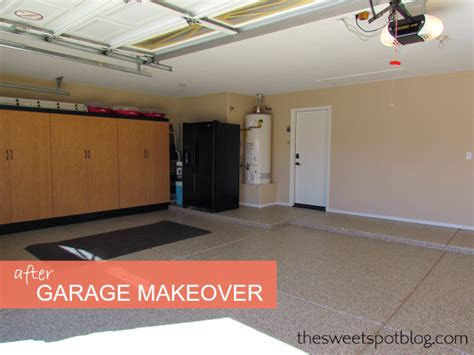 Garage Makeovers by Garage Makeover The Sweet Spot