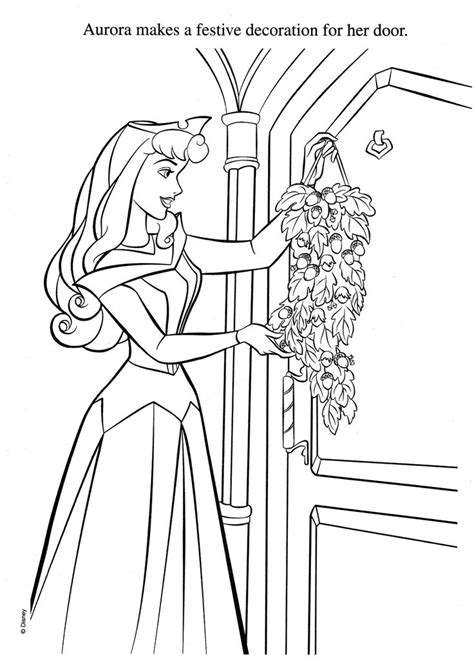 belle christmas coloring pages 174 best disney sleeping beauty images on pinterest