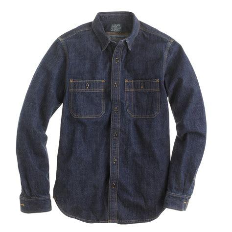 Denim Shirt selvedge indigo denim shirt s shirts j crew